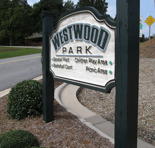 Westwood-sign