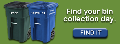 Find your Bin collection day