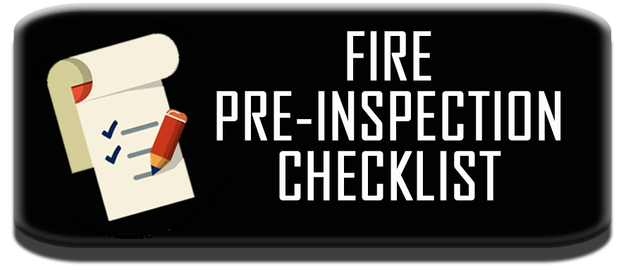 Fire pre-inspection checklist