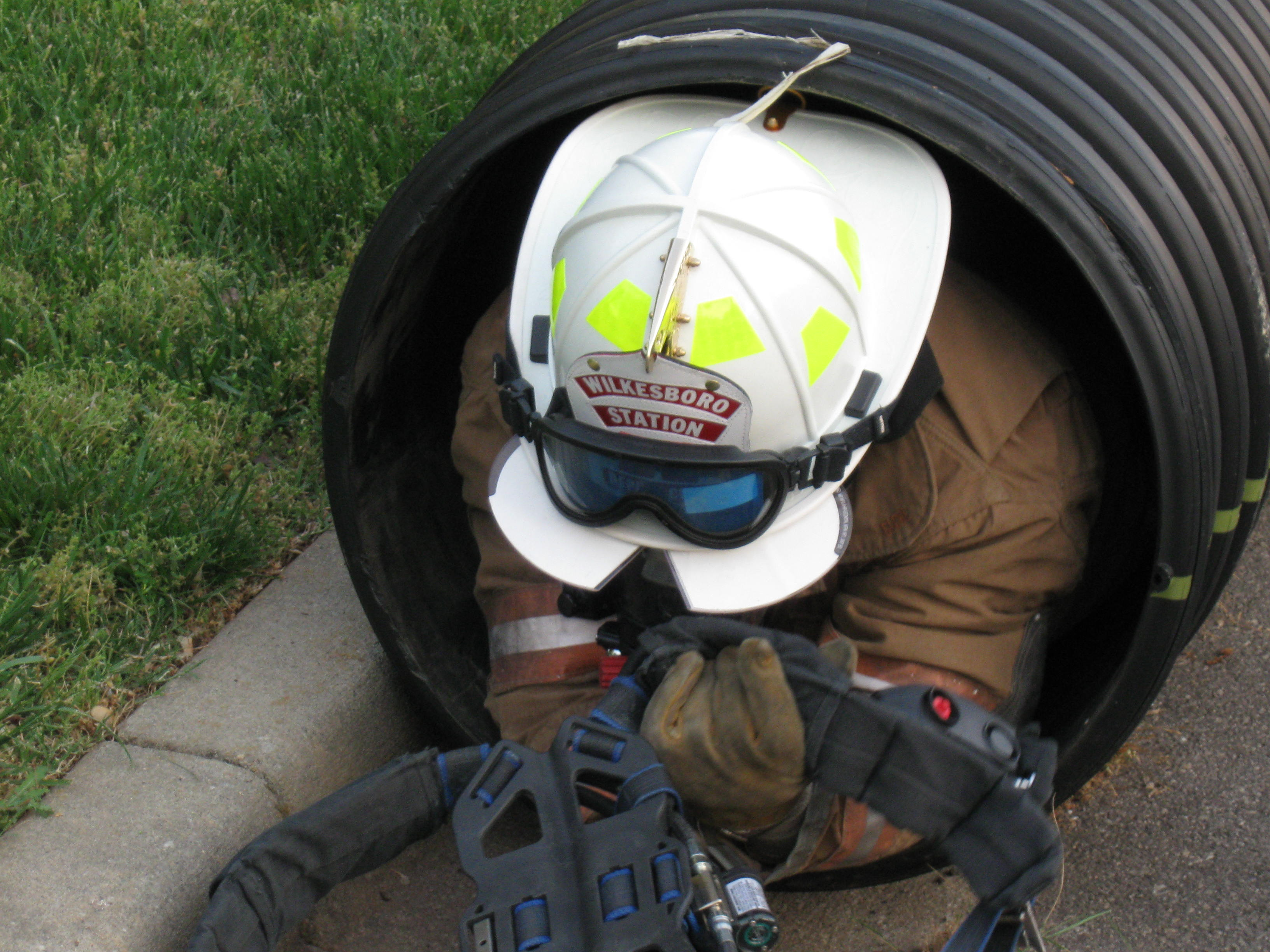 fire dept training confined spaces