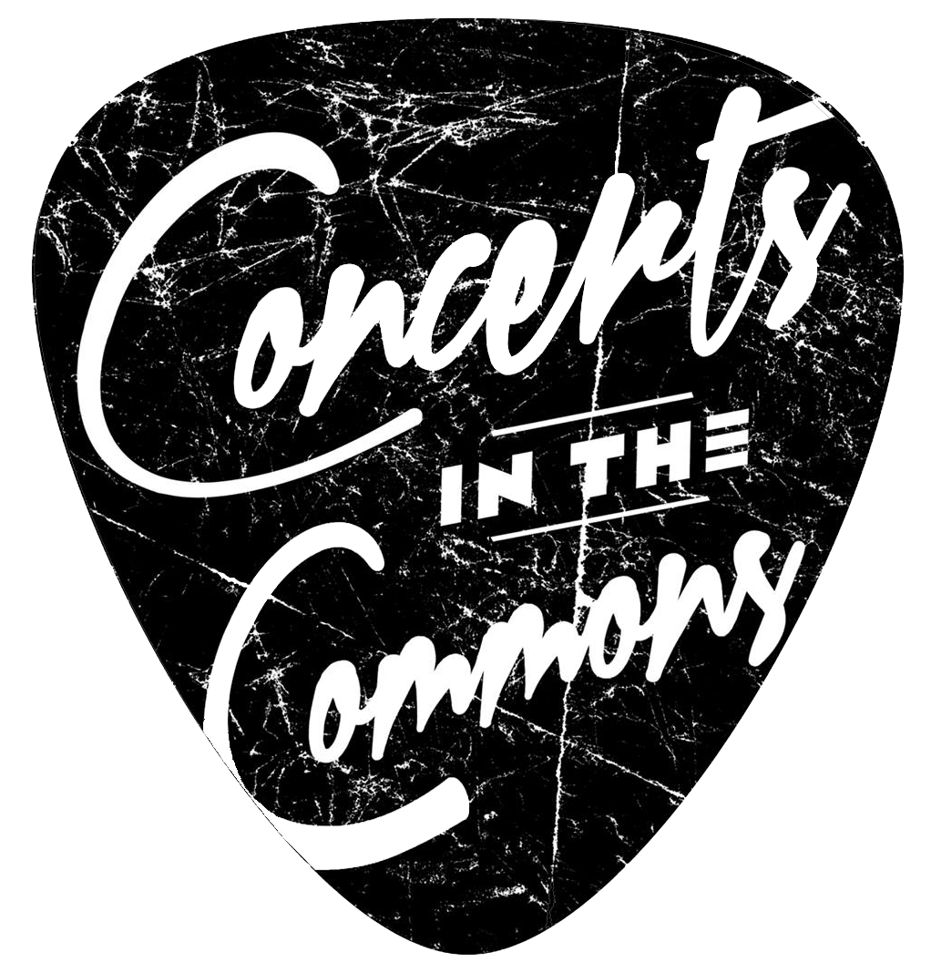concerts in the commons 2020 logo